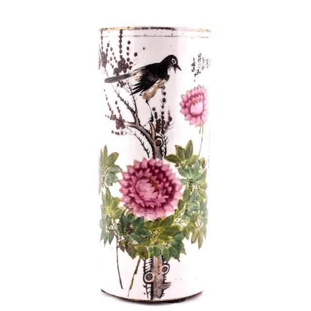 Chinese Republic Period Hat Stand Vase