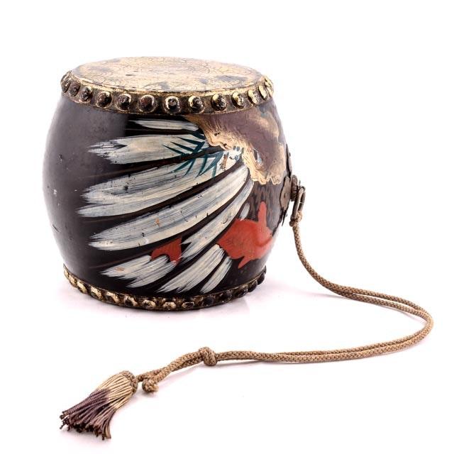 Hand-Painted Korean Buk Drum