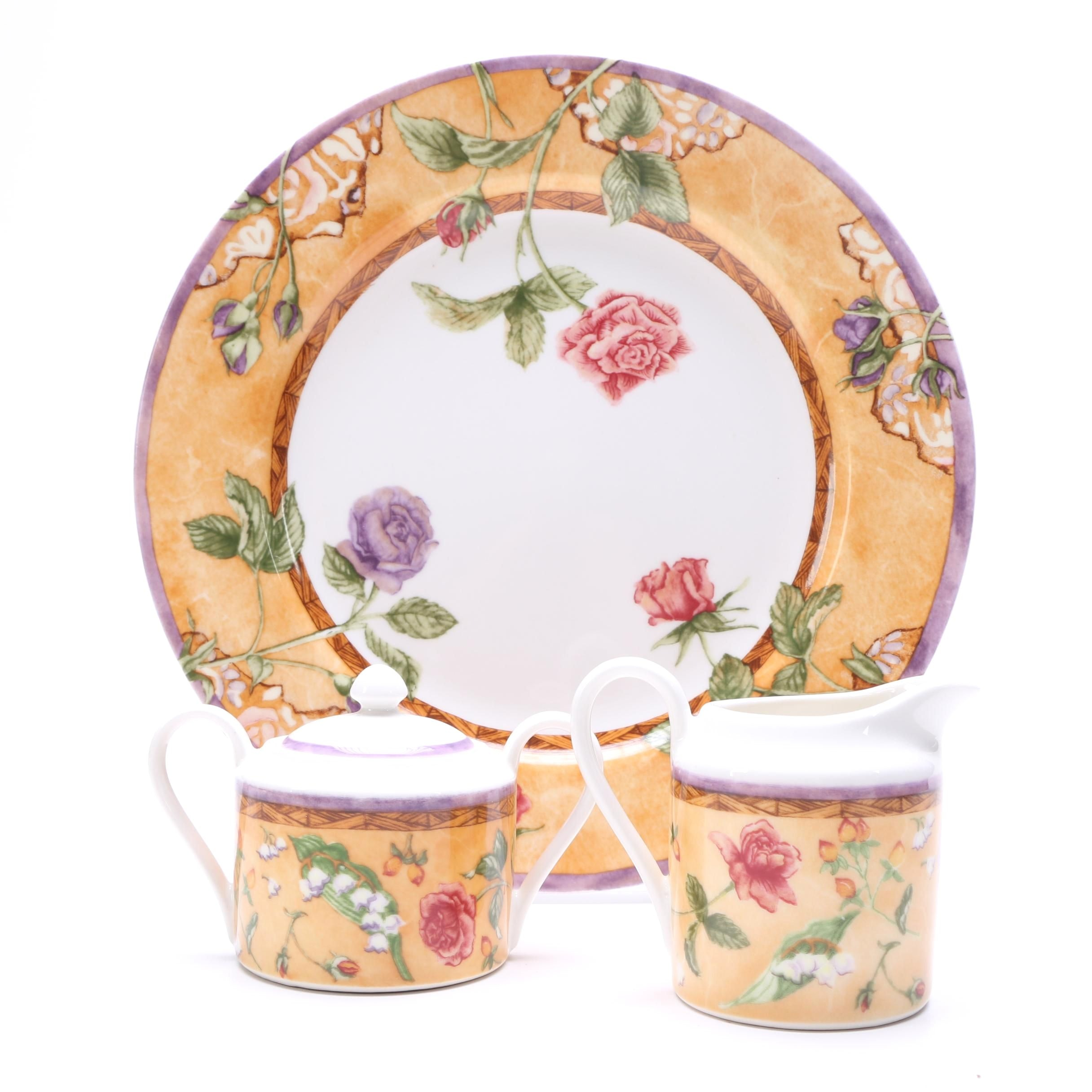 """222 Fifth """"Tuscany Rose"""" Tableware"""