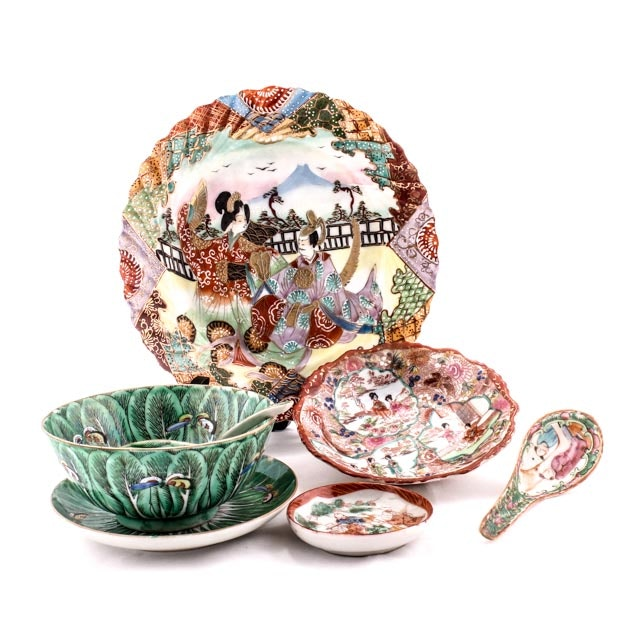 Early 20th Century Chinese and Japanese Porcelain Collectibles