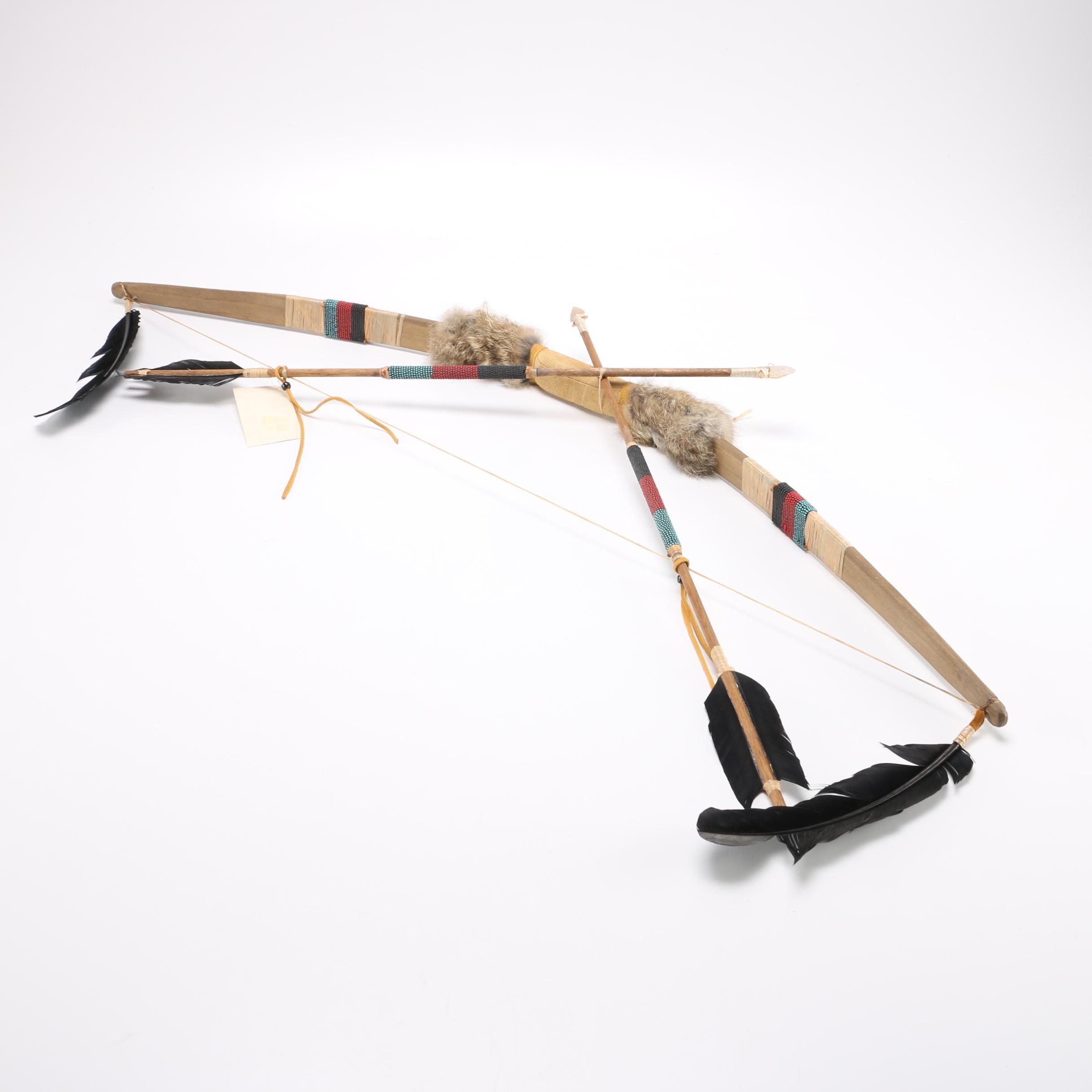 Navajo Bow and Arrow Reproduction