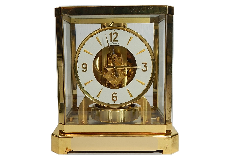 LeCoultre Atmos 15 Jewel Swiss Perpetual Motion Mantel Clock