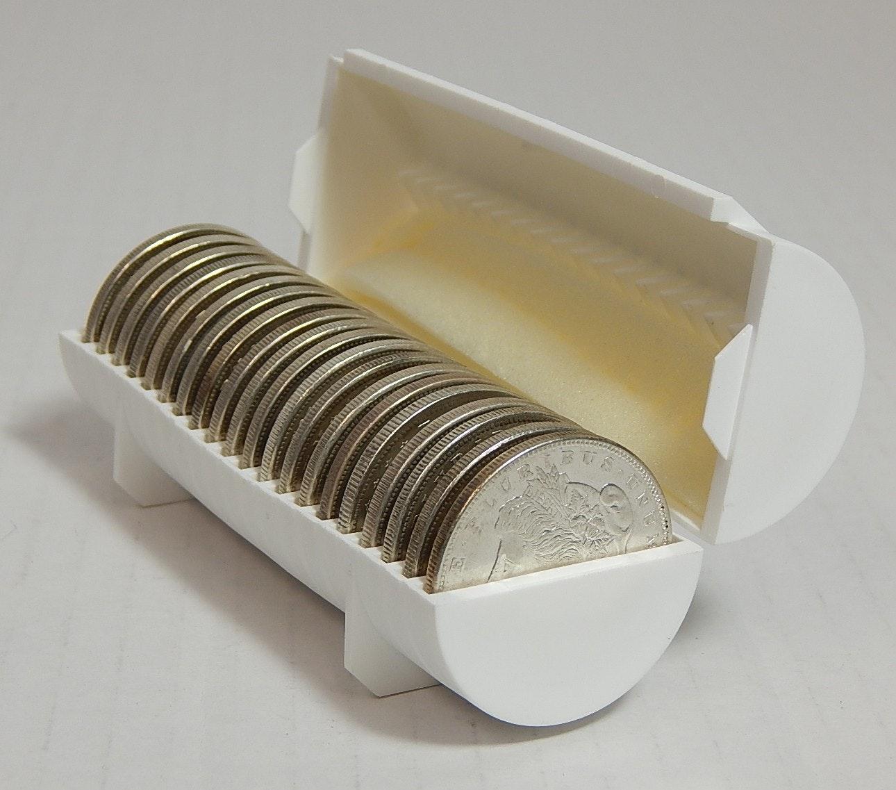 Twenty 1921 Morgan Silver Dollars in Case