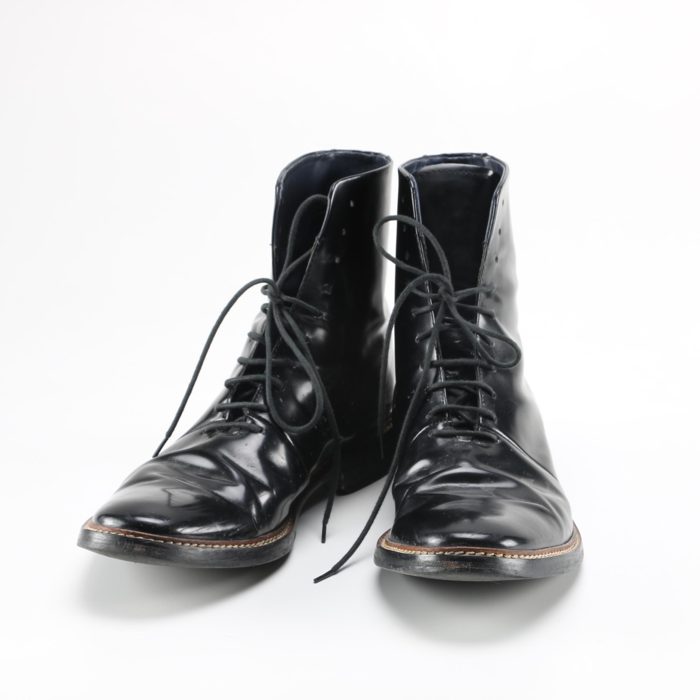 Zara Man Combat Boots