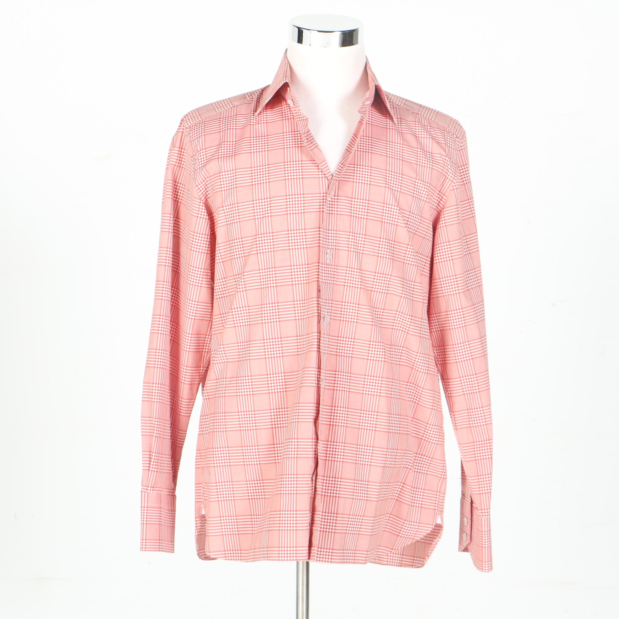 Tom Ford Button Up Top