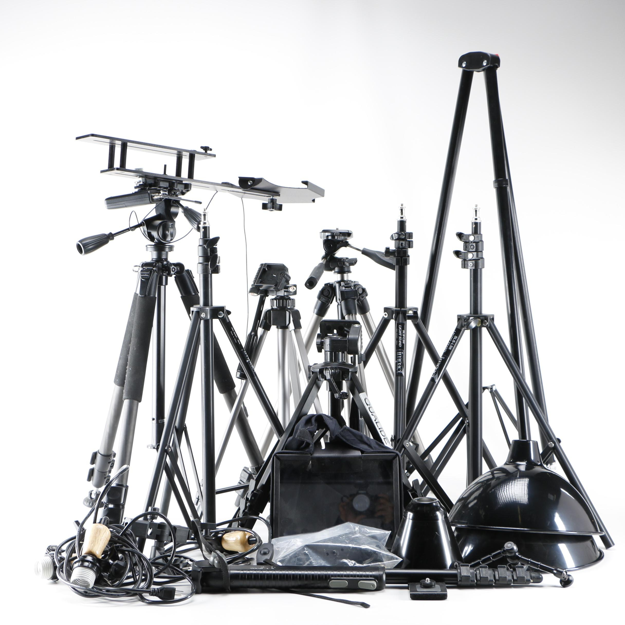 Impact Light Stand and Other Photography Lighting Equipment ...  sc 1 st  Everything But The House & Impact Light Stand and Other Photography Lighting Equipment : EBTH azcodes.com