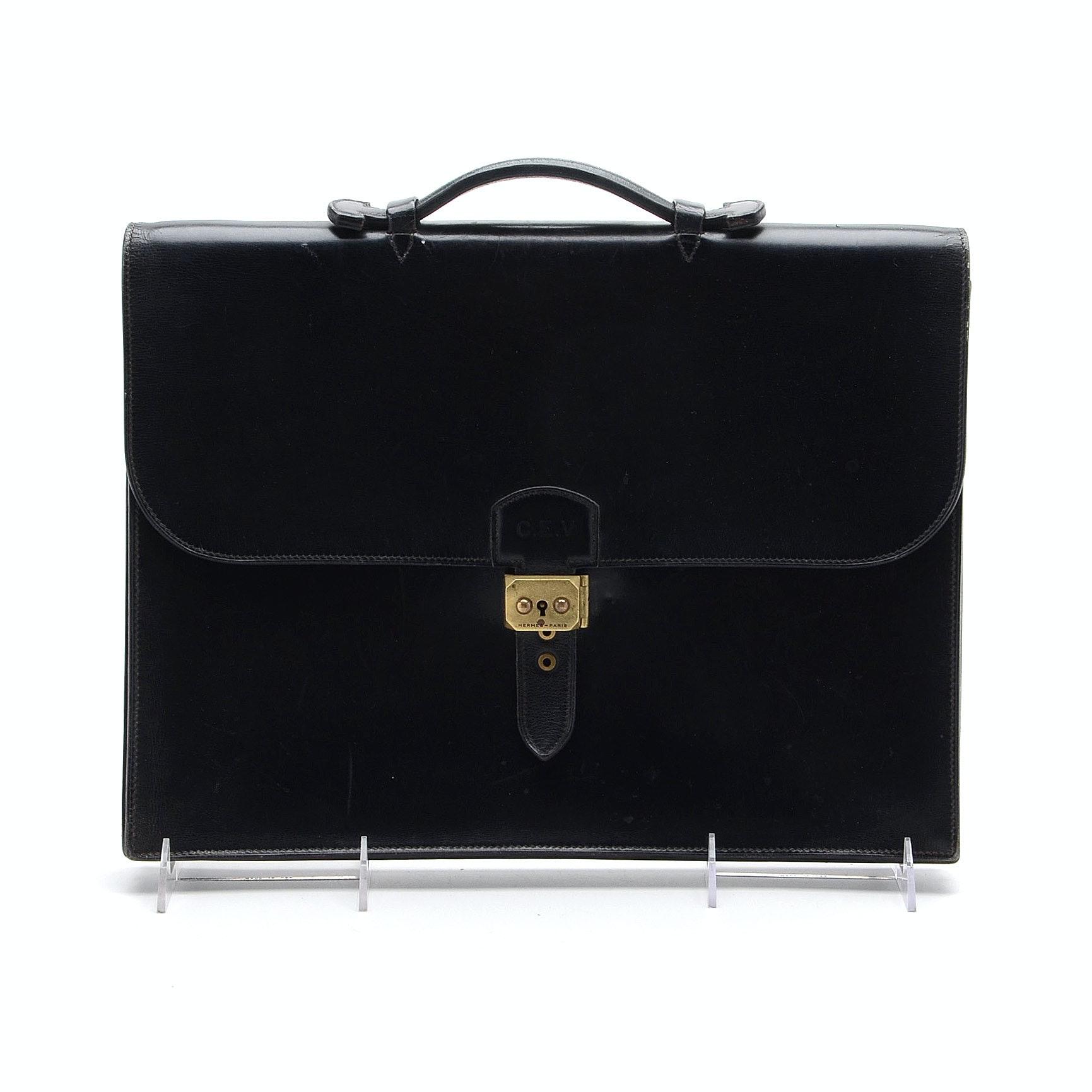 Vintage Hermès Sac à Dépèches' Briefcase