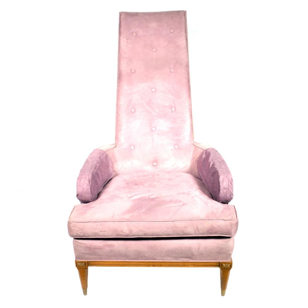 Lavender Mid Century Modern Chair