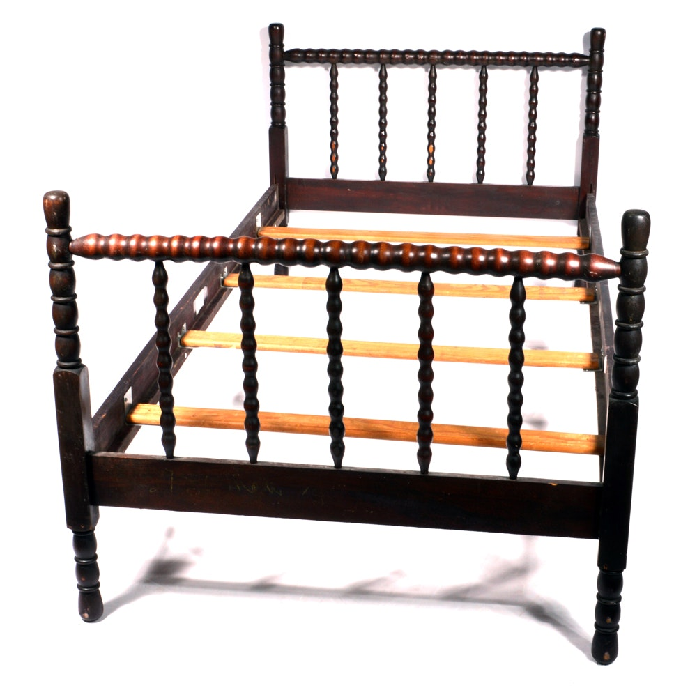 vintage barley twist twin bed frame - Twin Bed For Sale