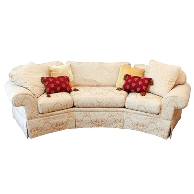 Arhaus Couch With Camden Collection Slipcovers Ebth