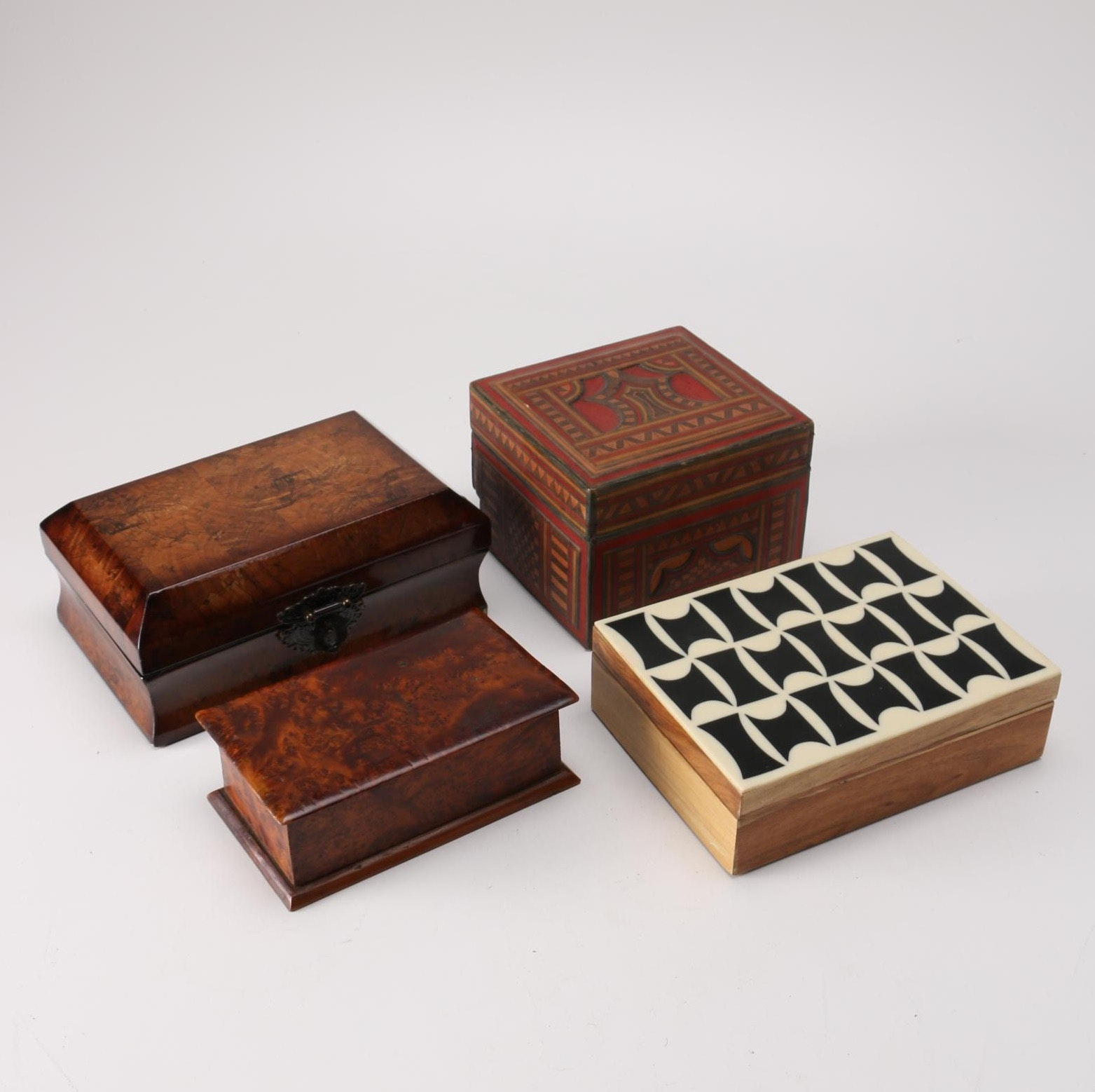 Wooden Trinket Boxes