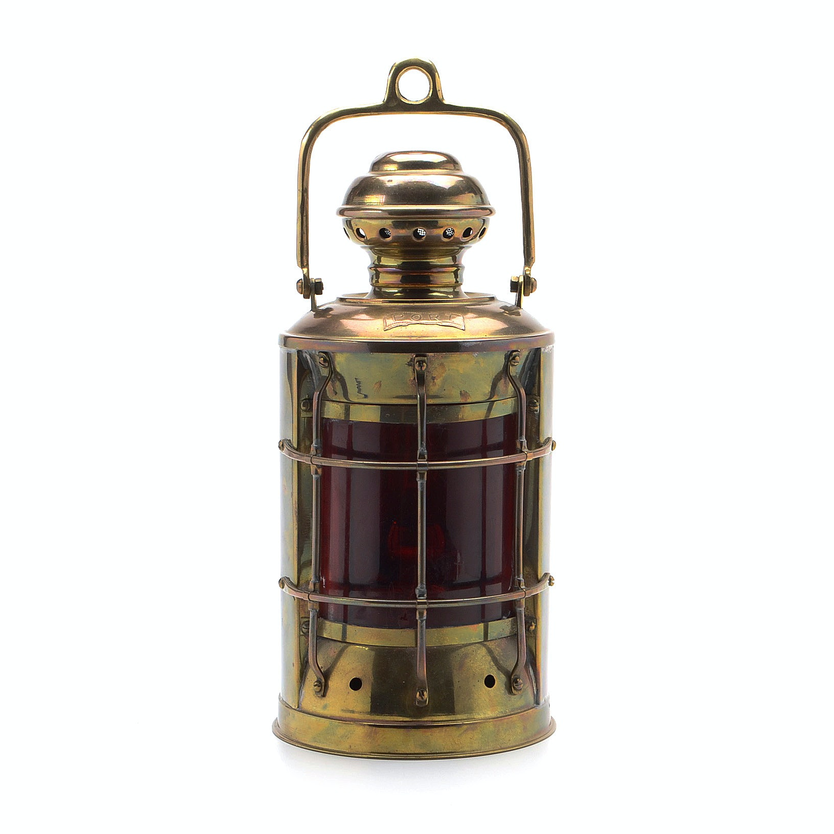 Nautical Port Side Oil Lantern