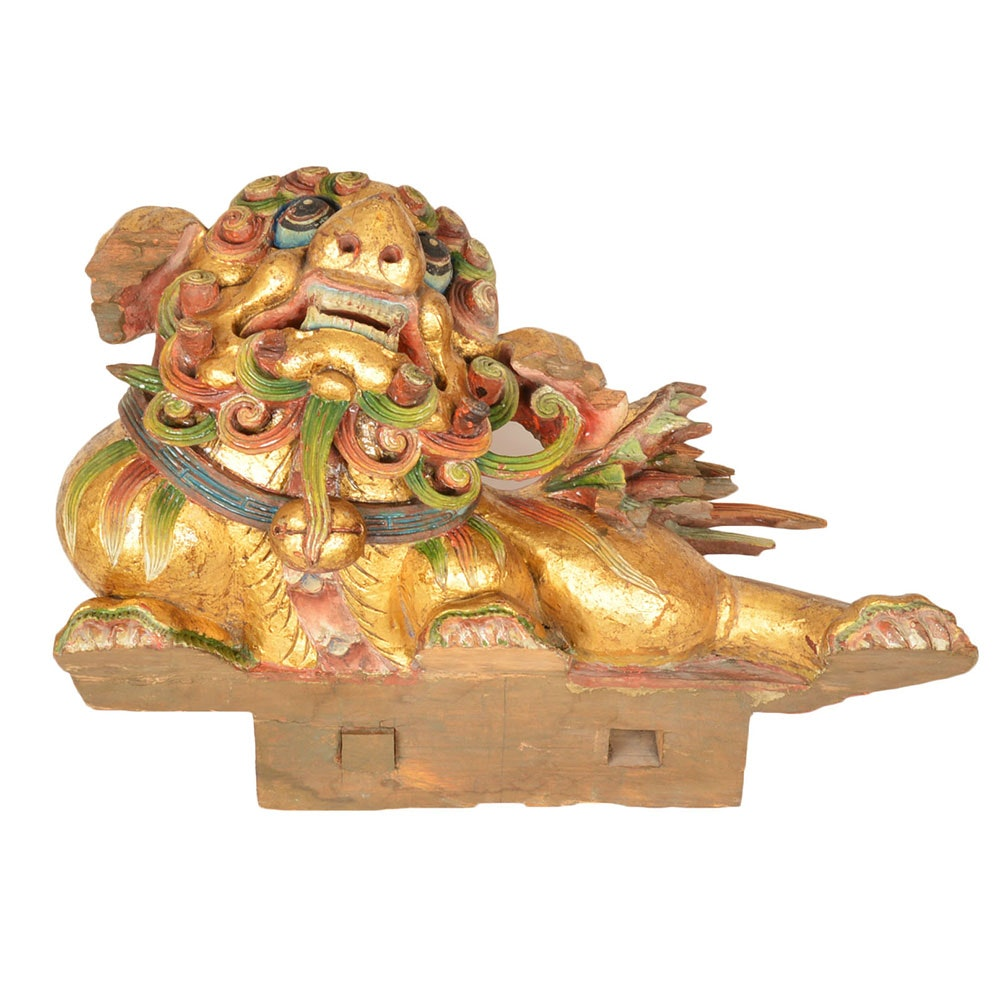 Late 19th Century Chinese Guardian Lion