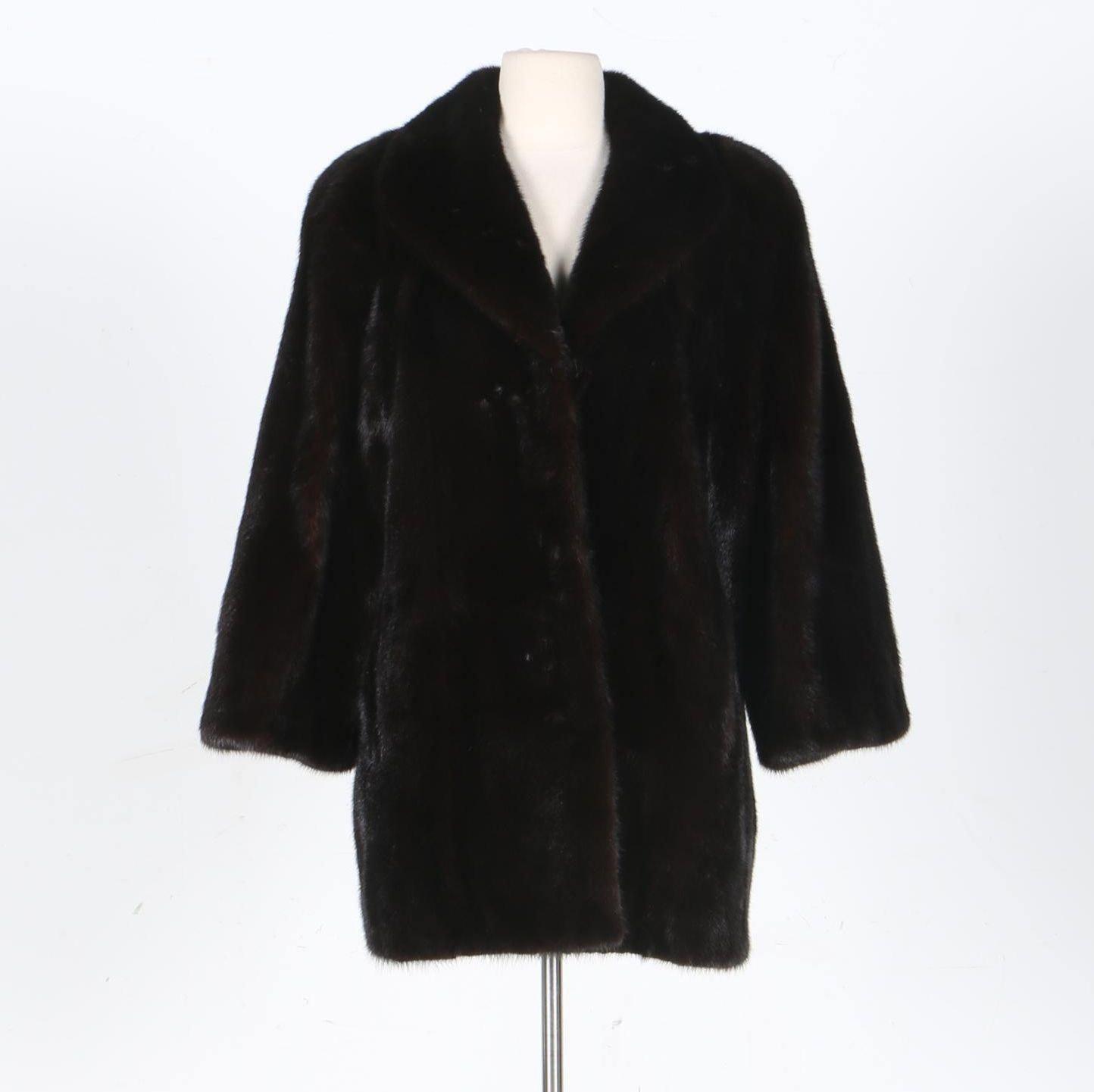Nina Ricci Mink Fur Coat