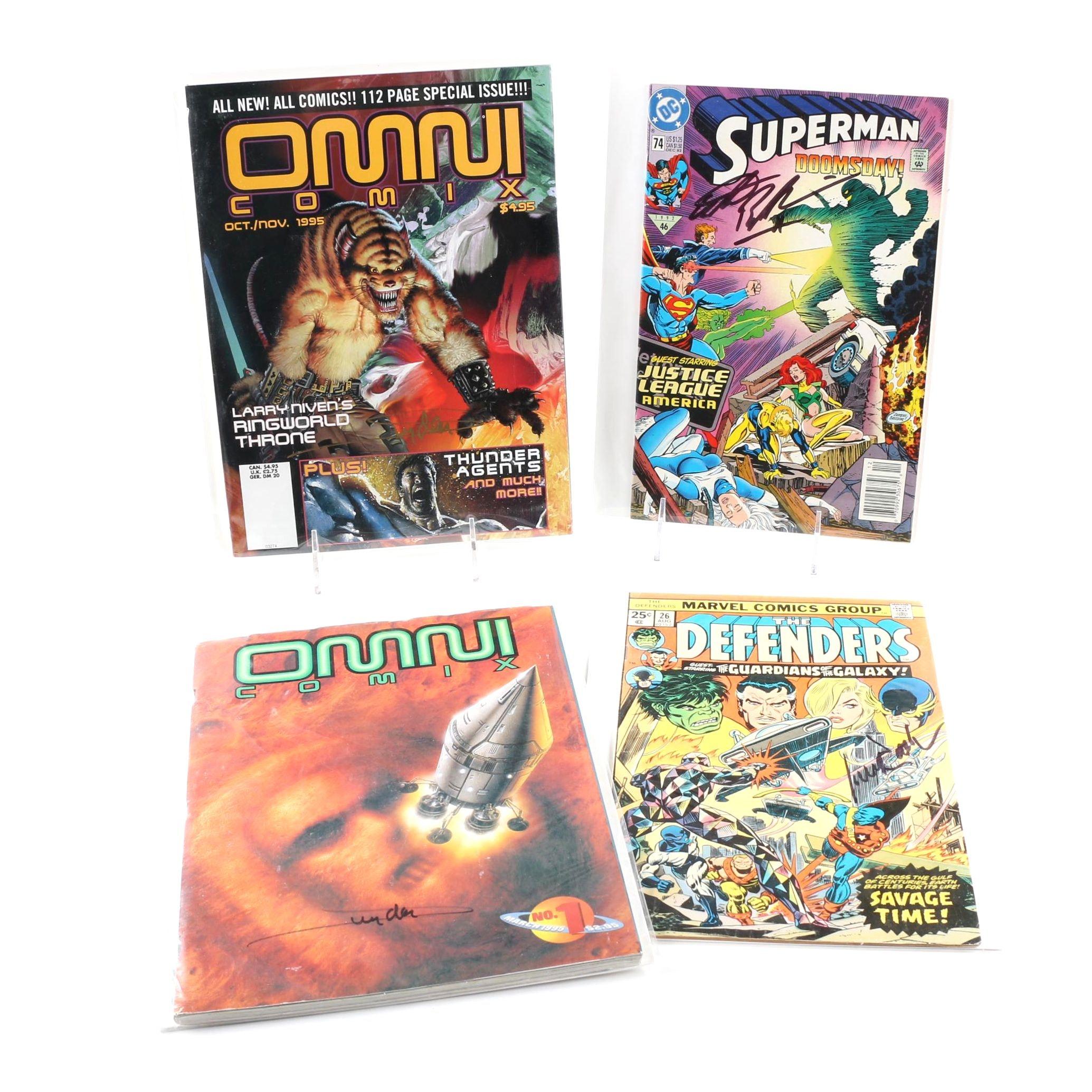 Michael Rooker, Adam Baldwin, Arthur Suydam Signed Comic Books