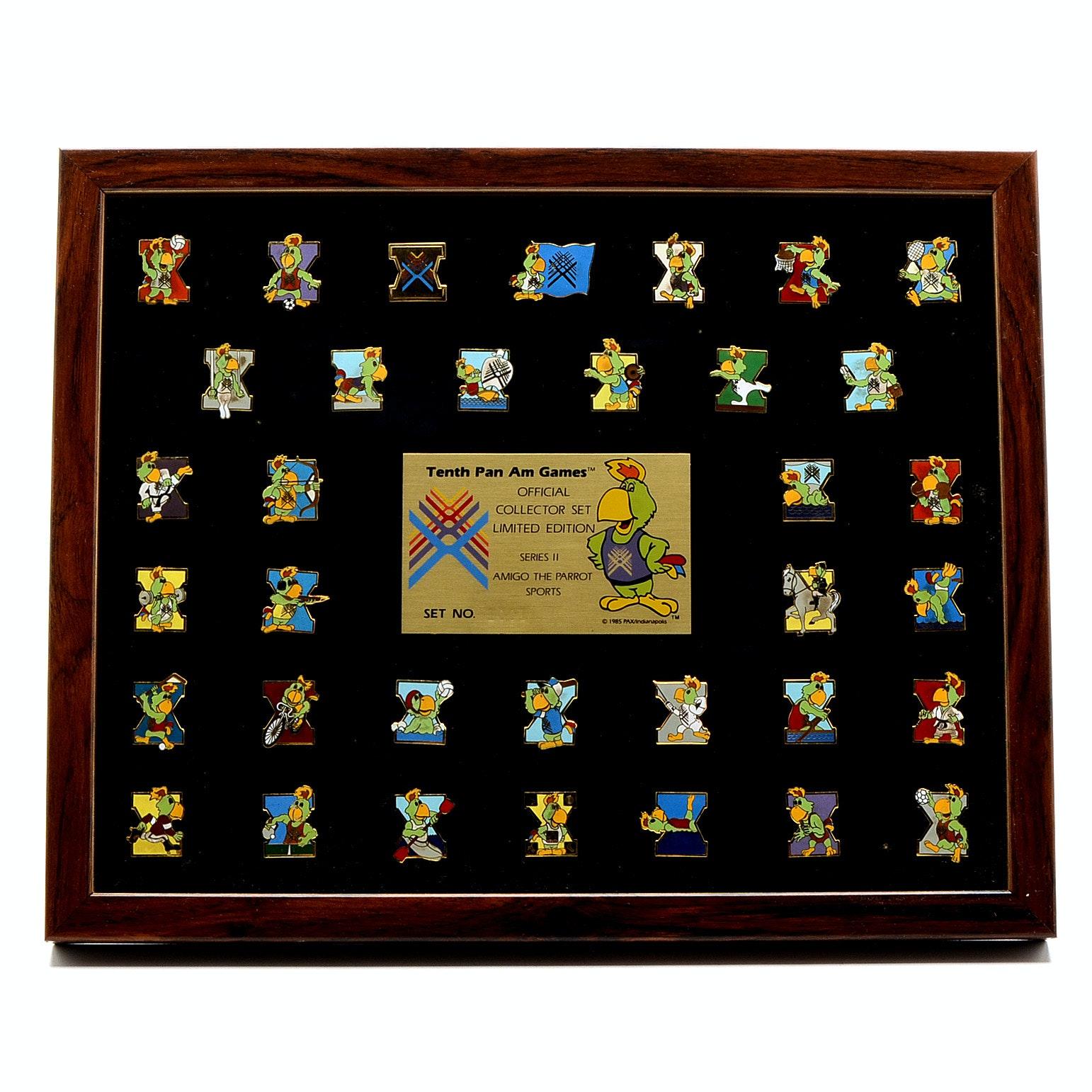 1987 Pan Am Games Pin Set