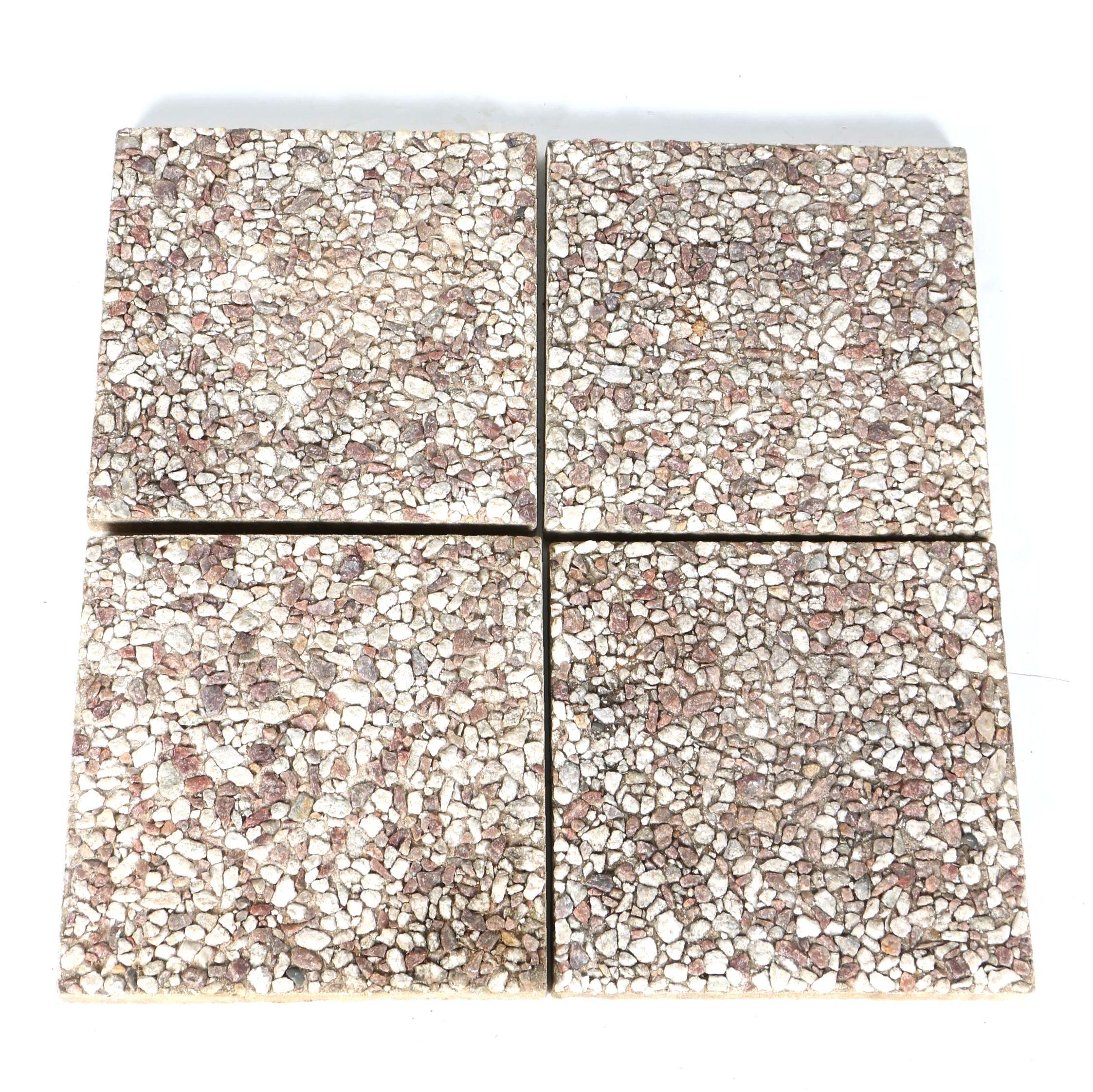 Set of Square Patio Stones