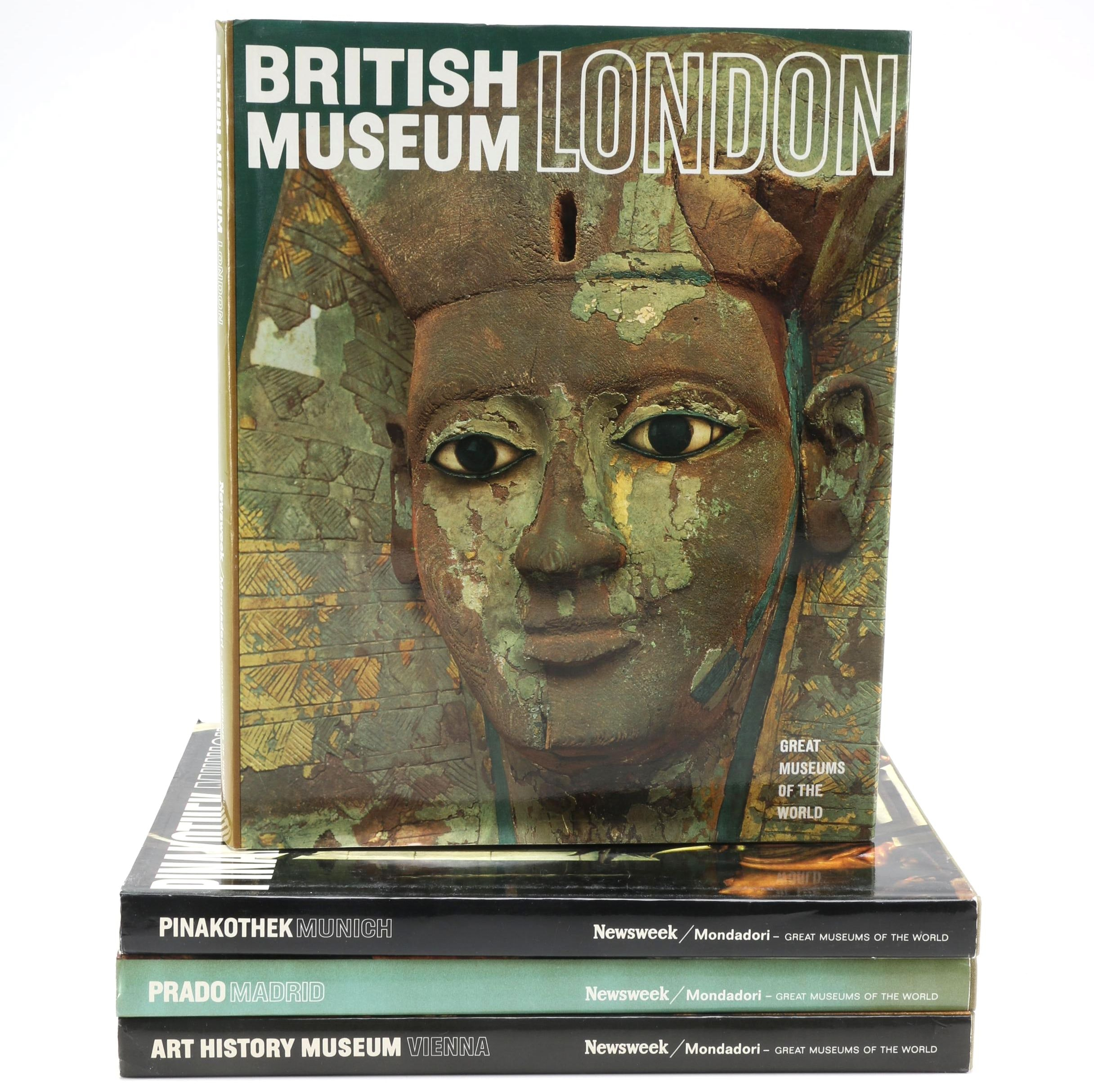 """""""Great Museums of the World"""" Book Collection"""