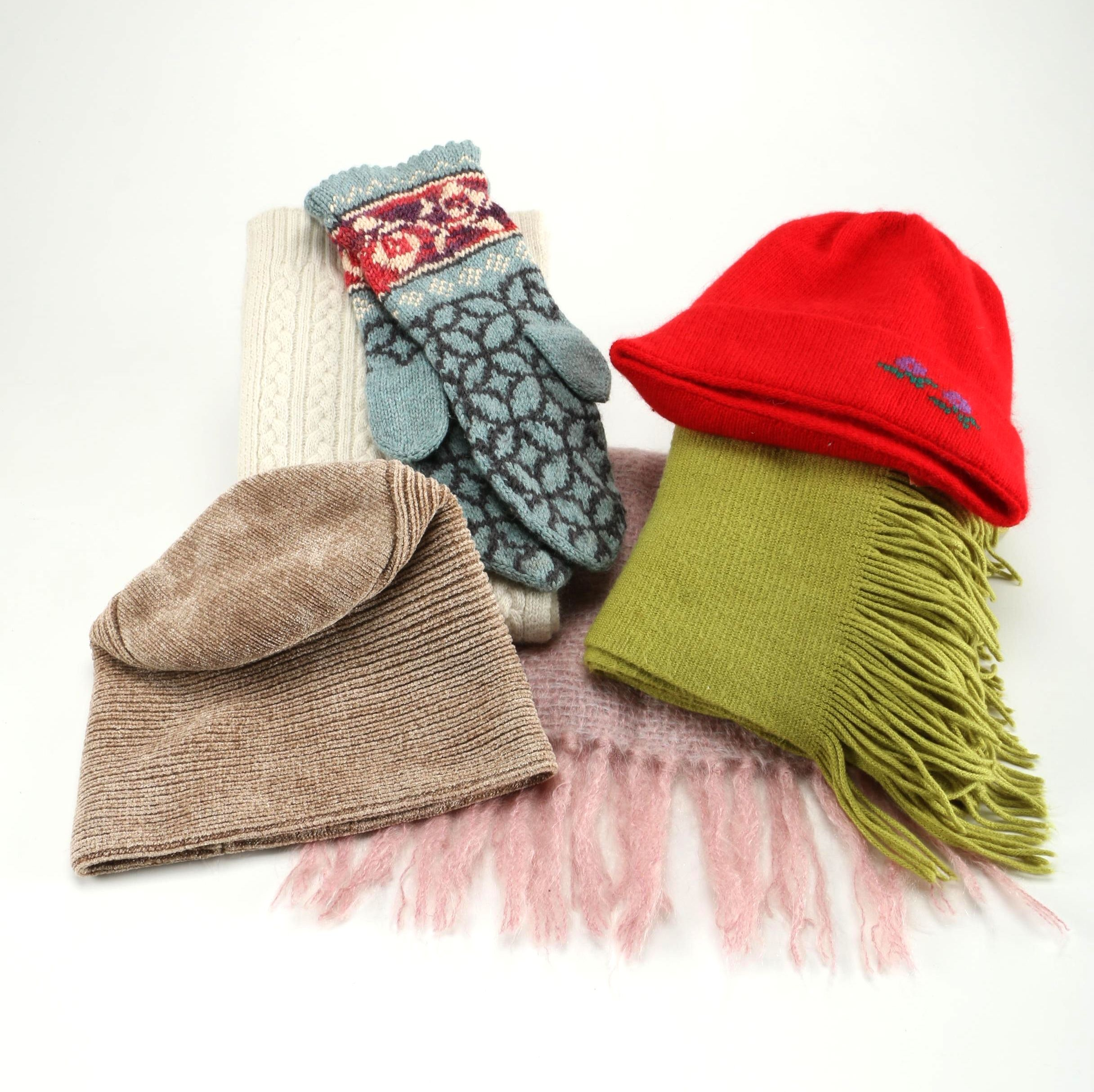Winter Hat and Scarf Collection