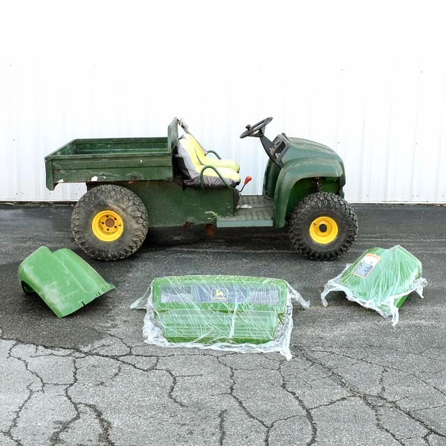 John Deere Gator 4x2 with Snow Blade
