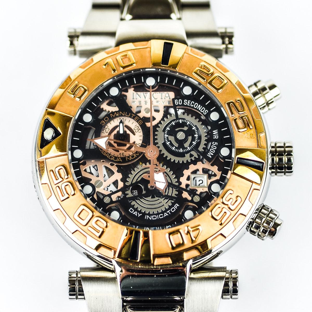 Invicta Reserve Sub Aqua Noma I Men's Wristwatch