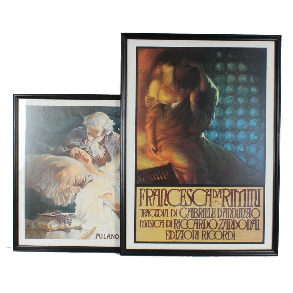 Reproduction Opera Art Print Posters