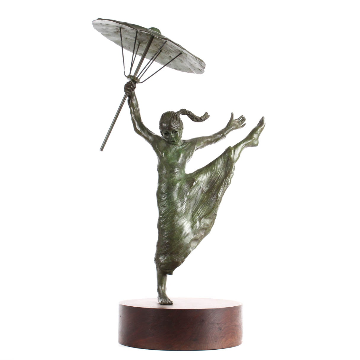 Ann Entis Original Cast Bronze Sculpture