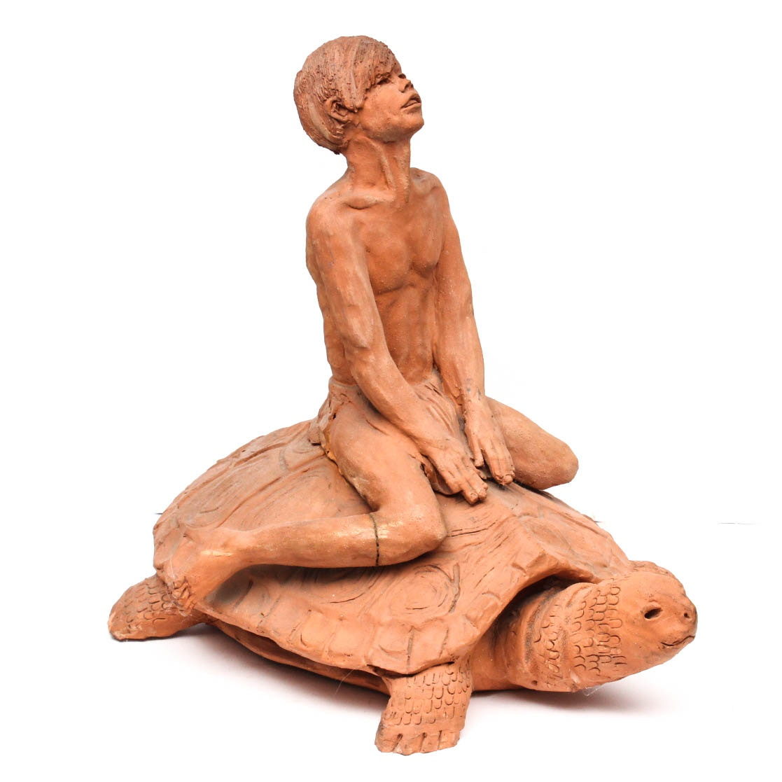 Original Commissioned Ann Entis Terracotta Sculpture