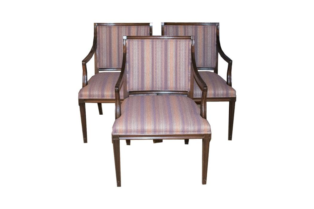 Set of Three Hickory Armchairs