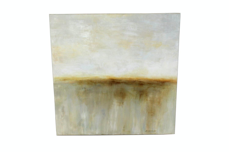 Hong Yuan Xu Acrylic on Canvas Abstract Landscape