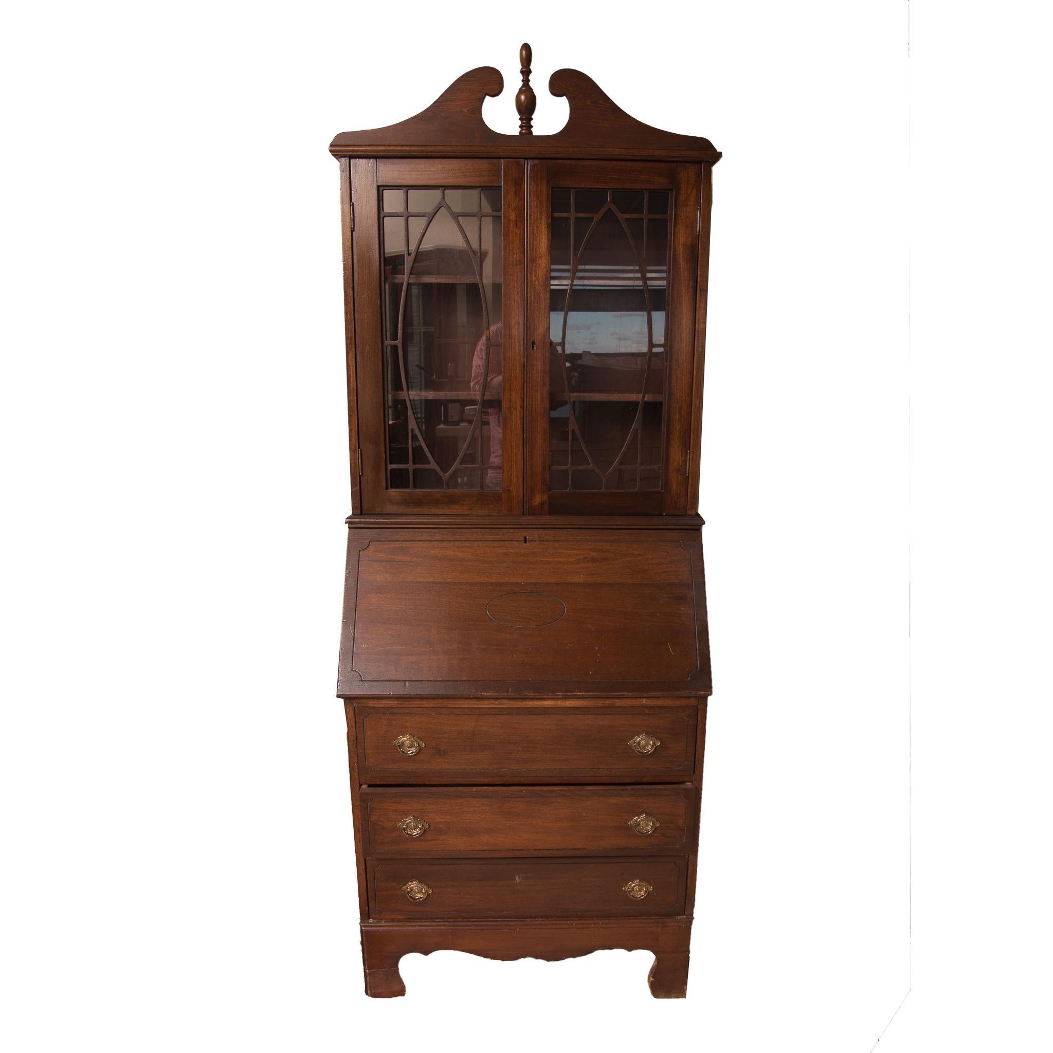 Federal Style Secretary Bookcase