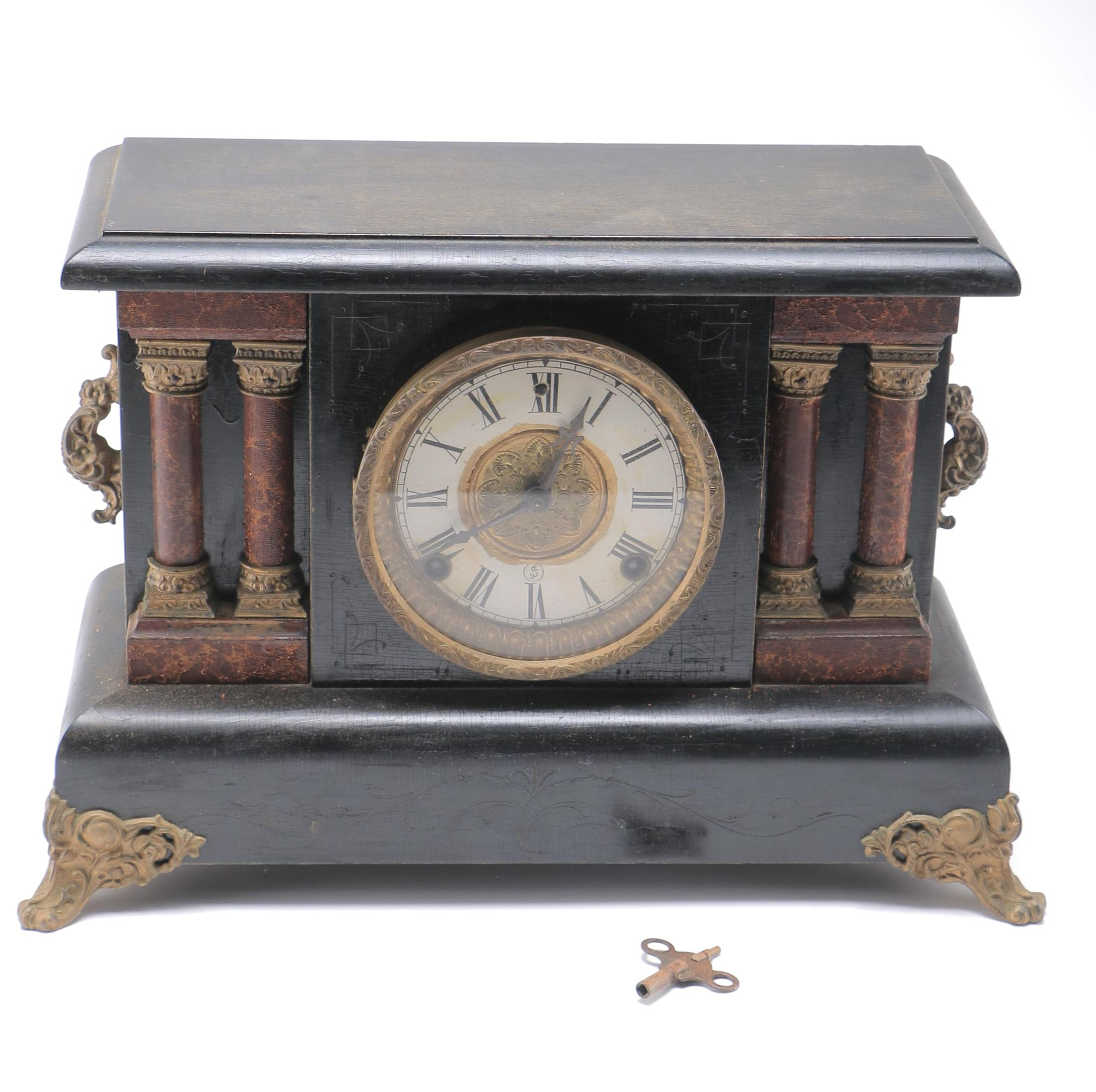 Neoclassical Style Mantel Clock