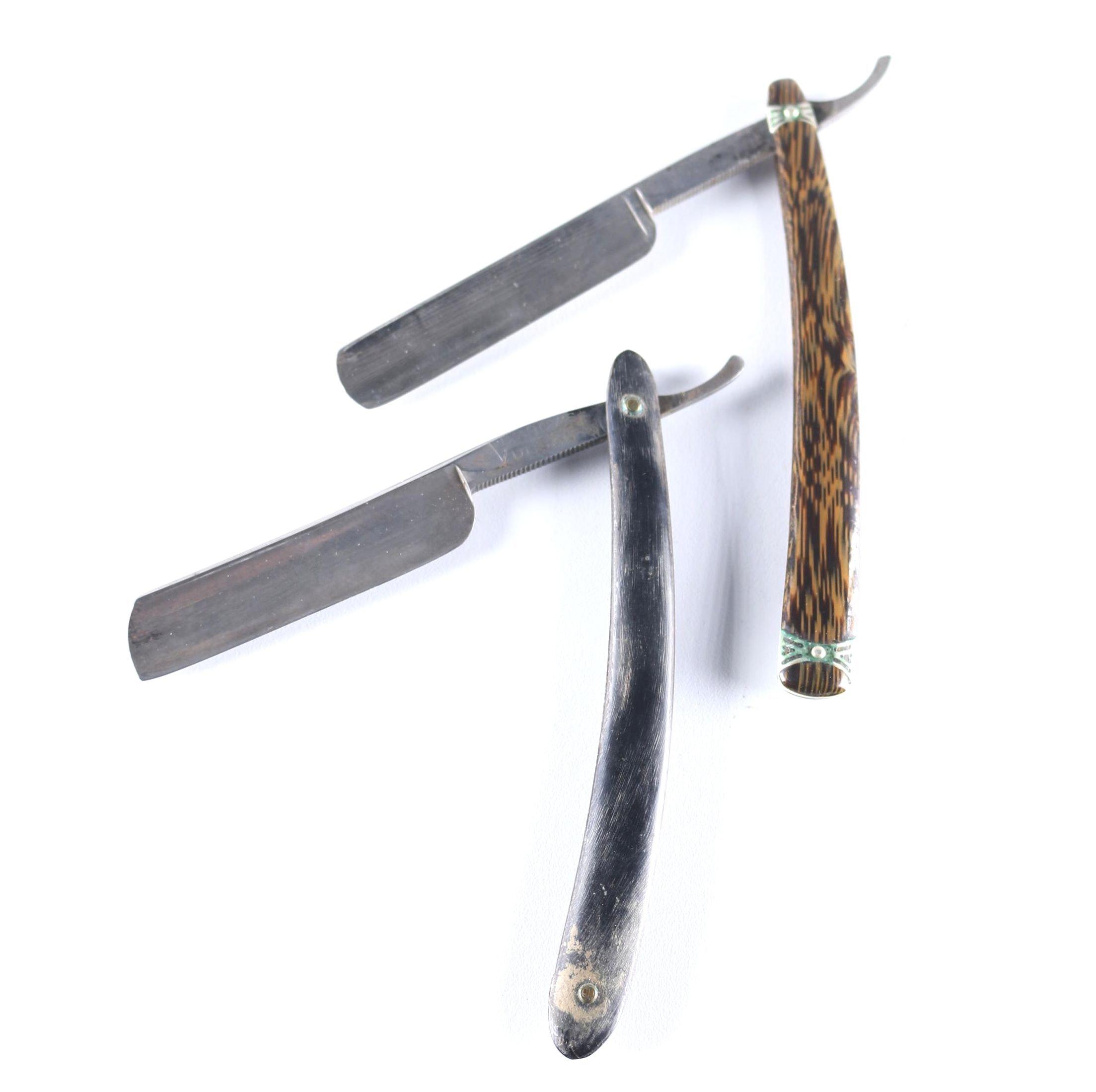 Pair of Vintage Men's Shaving Razors