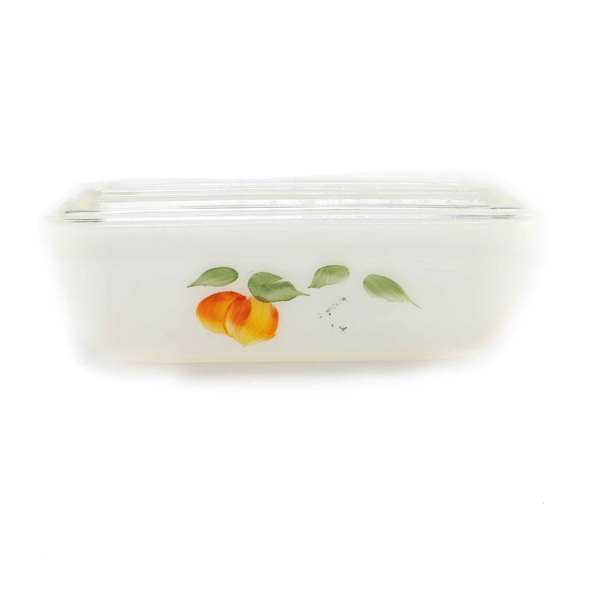 Fire-King Bakeware Dish With Lid