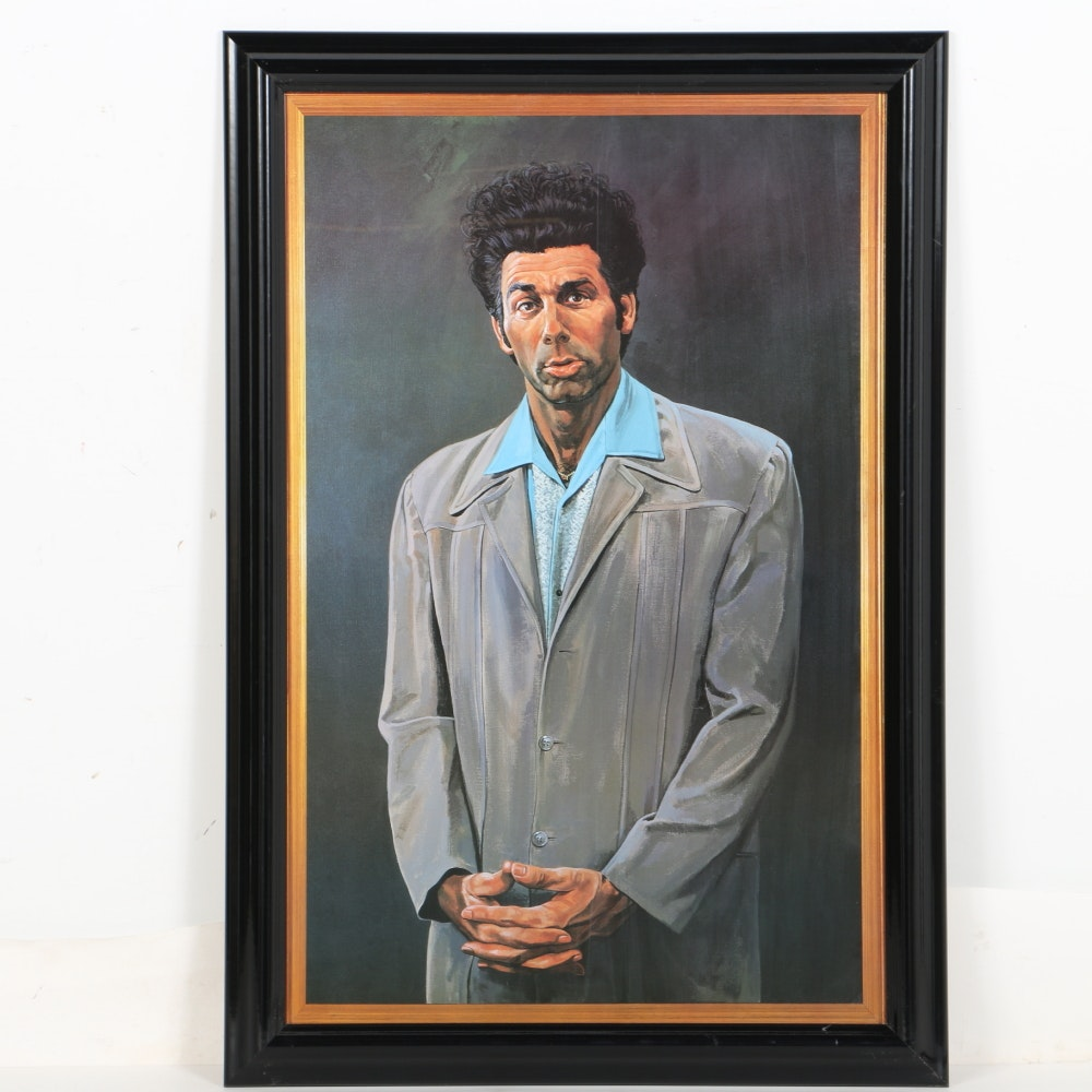 Offset Lithograph After Kramer Portrait