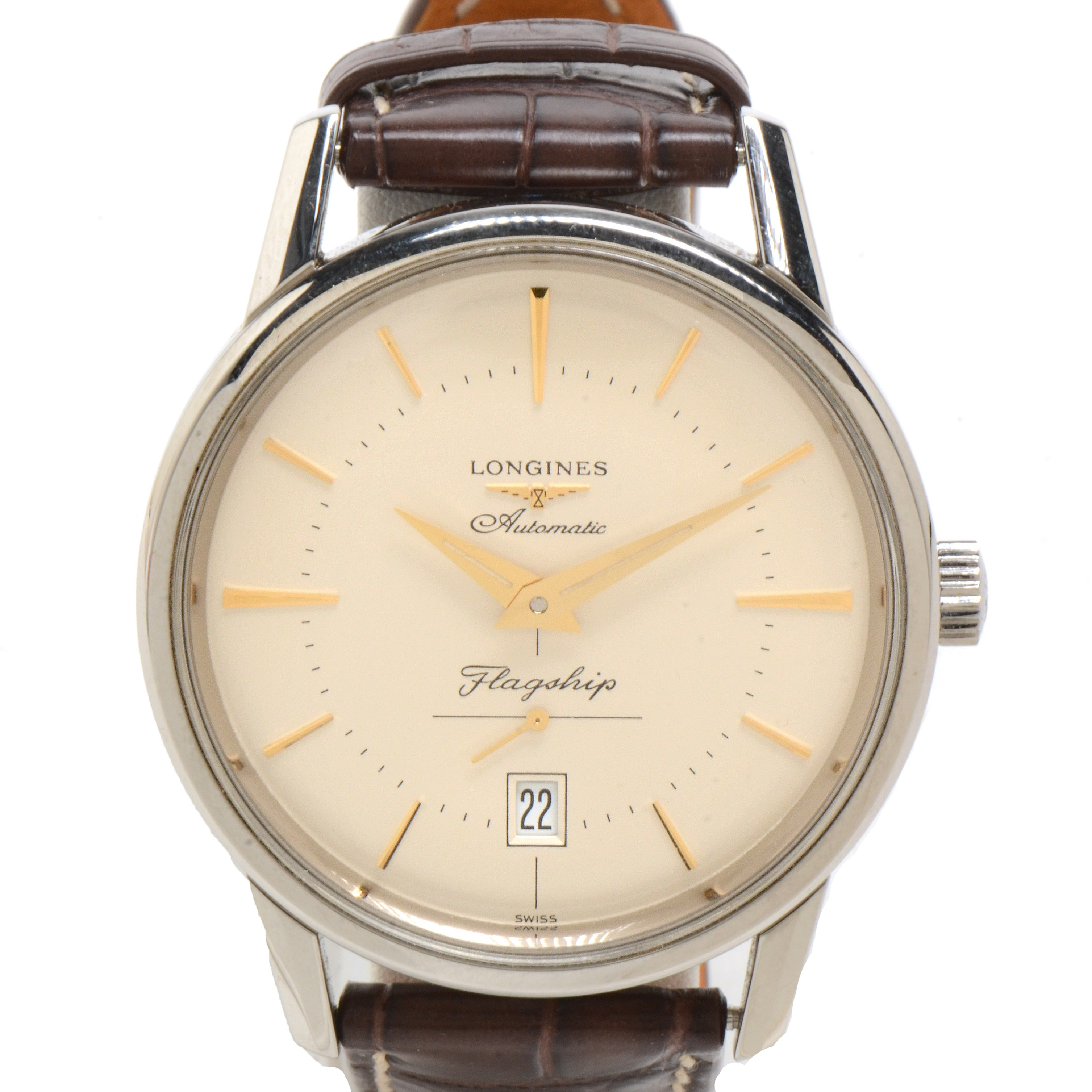 Longines Flagship Heritage Date Stainless Steel Automatic 38.5 mm