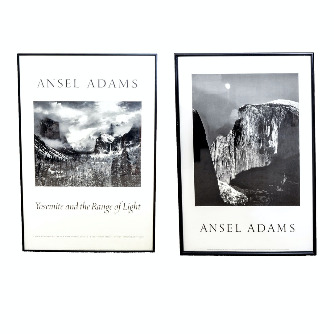 Grouping of Posters After Ansel Adams
