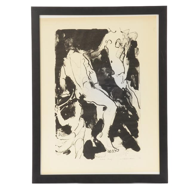 Jack Meanwell Signed Artist's Proof Hand-Pulled Lithograph