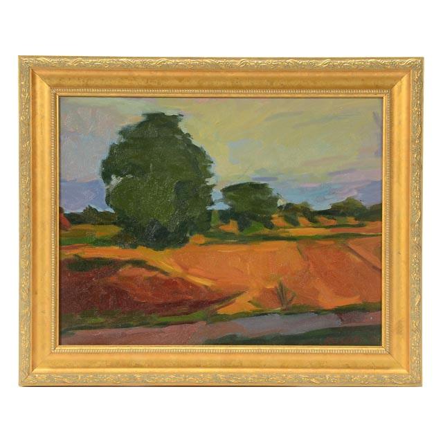 Roland Huston Original Oil on Canvas Landscape