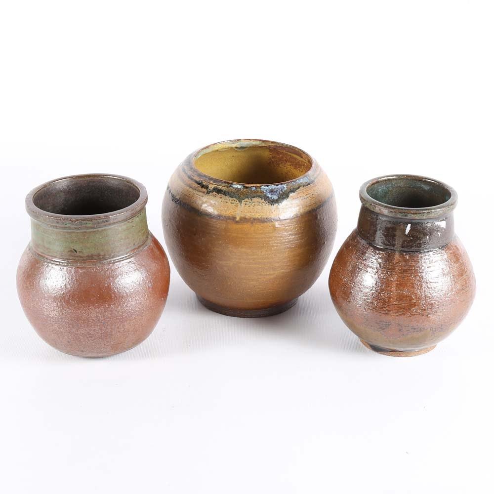 Robert Davidson Hand Thrown Original Pottery
