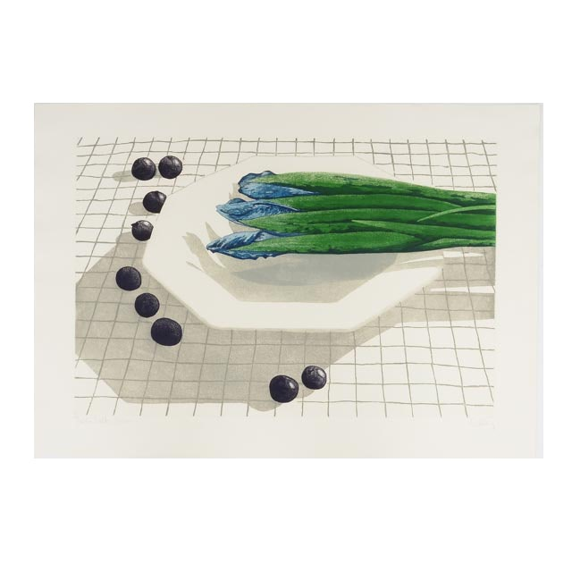 """Kelley Signed Limited Edition Color Aquatint Etching """"Table Talk"""""""
