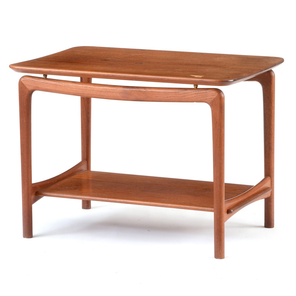 John Stuart Teakwood Side Table