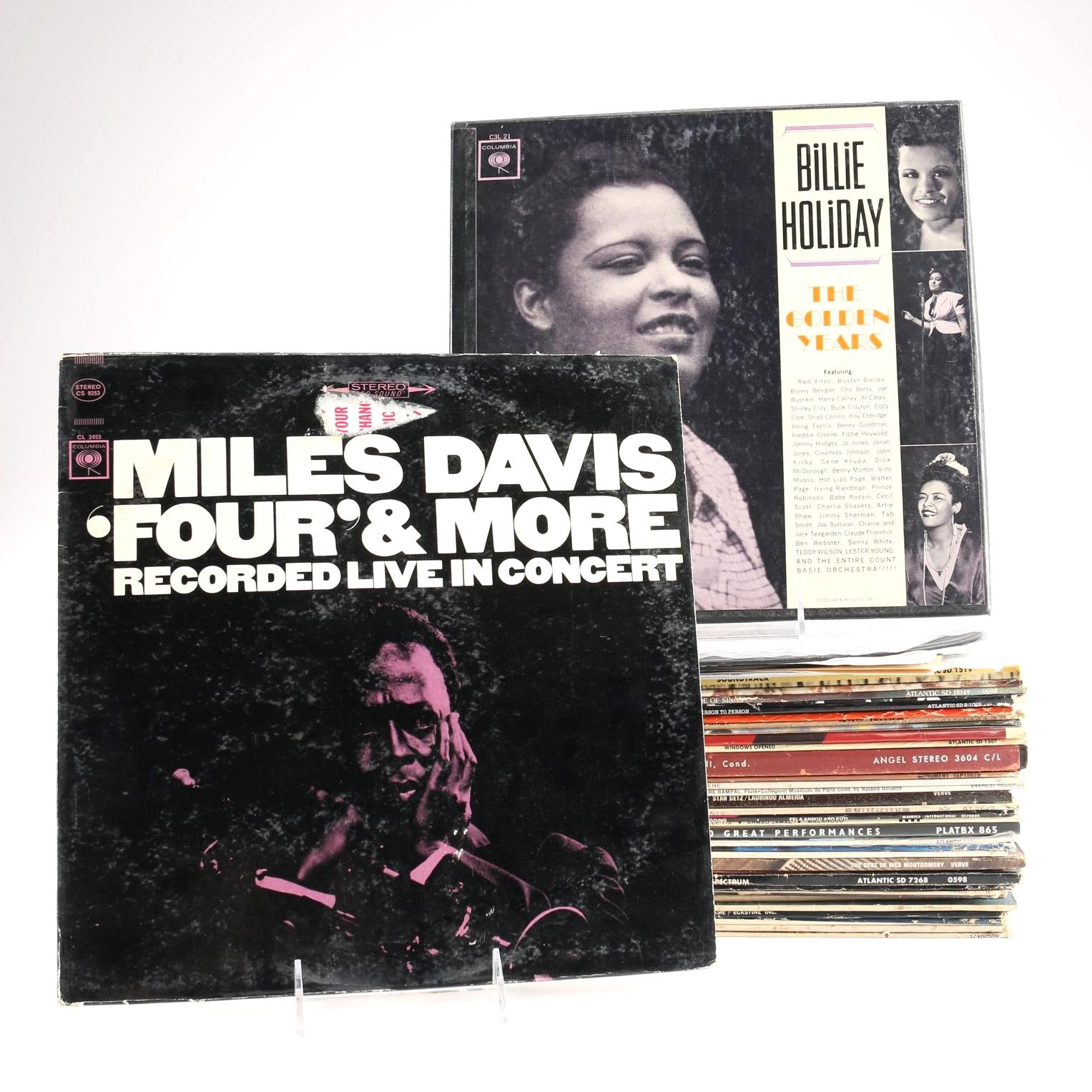 Miles Davis, Thelonious Monk and Other Jazz, Funk LPs