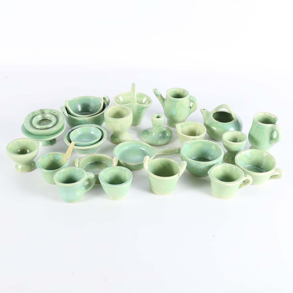 Miniature Pottery Set