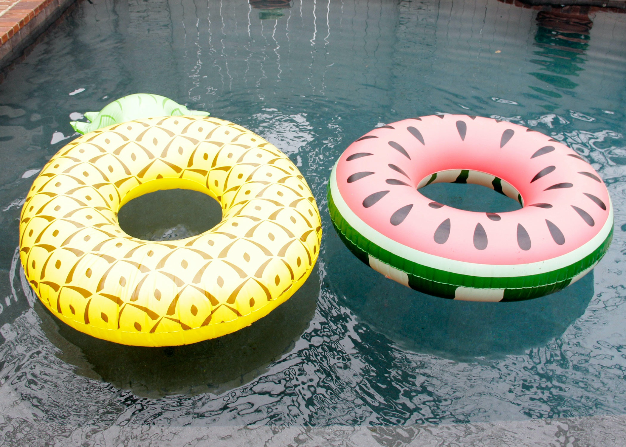 Pair of Bigmouth Inflatable Pool Floats
