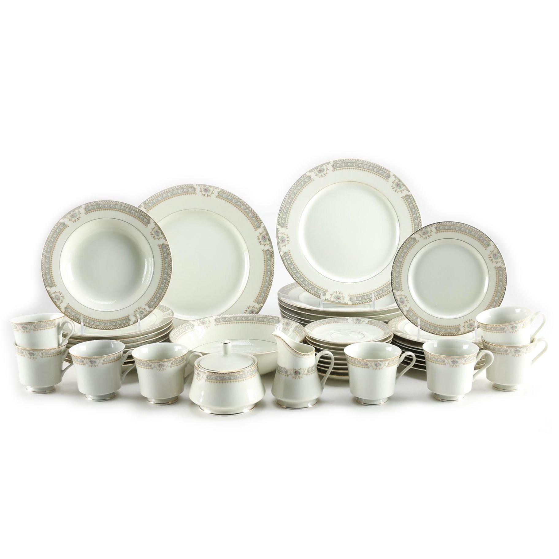 mikasa richelieu ivory china set