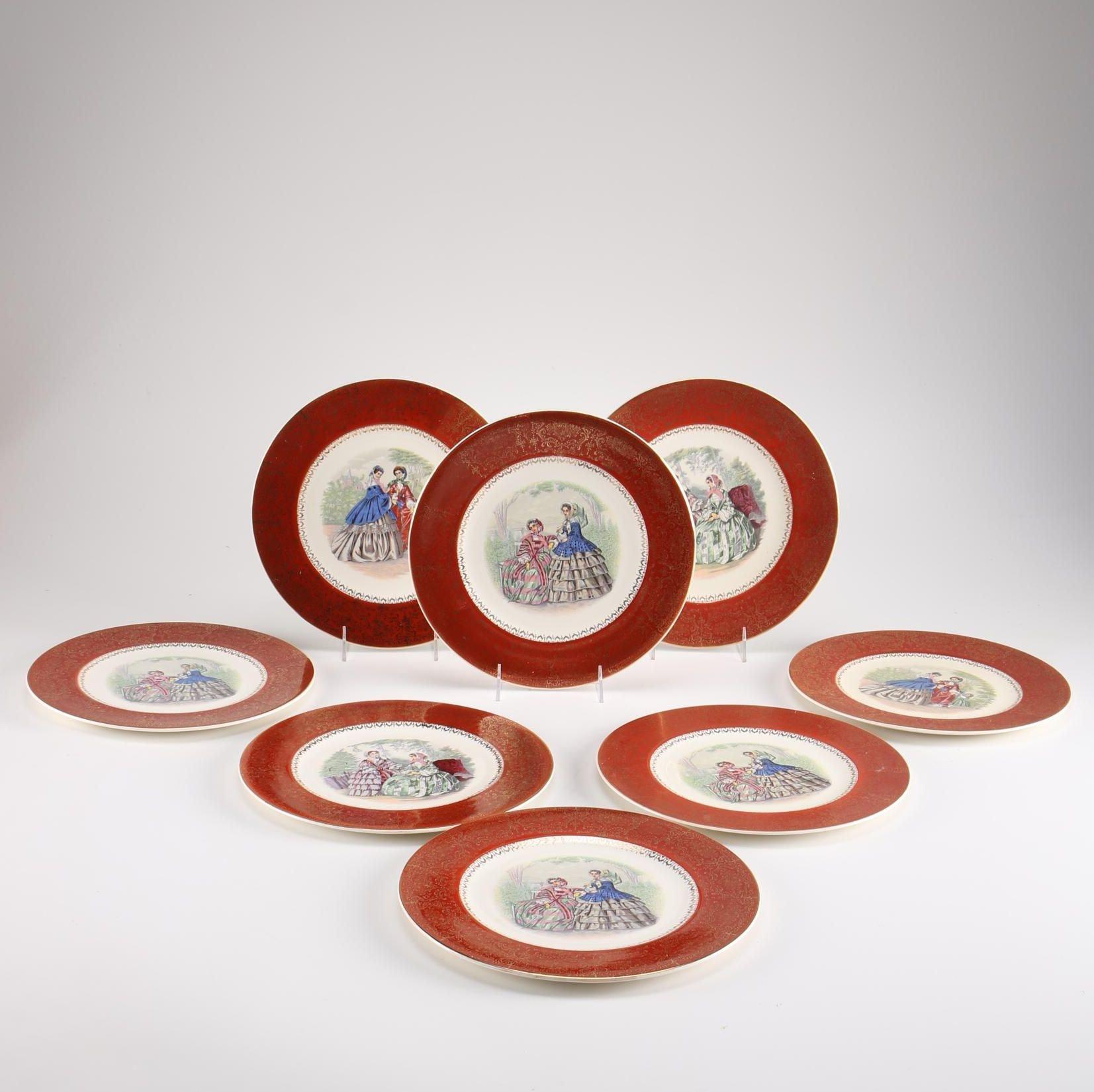 Vintage Salem Plates