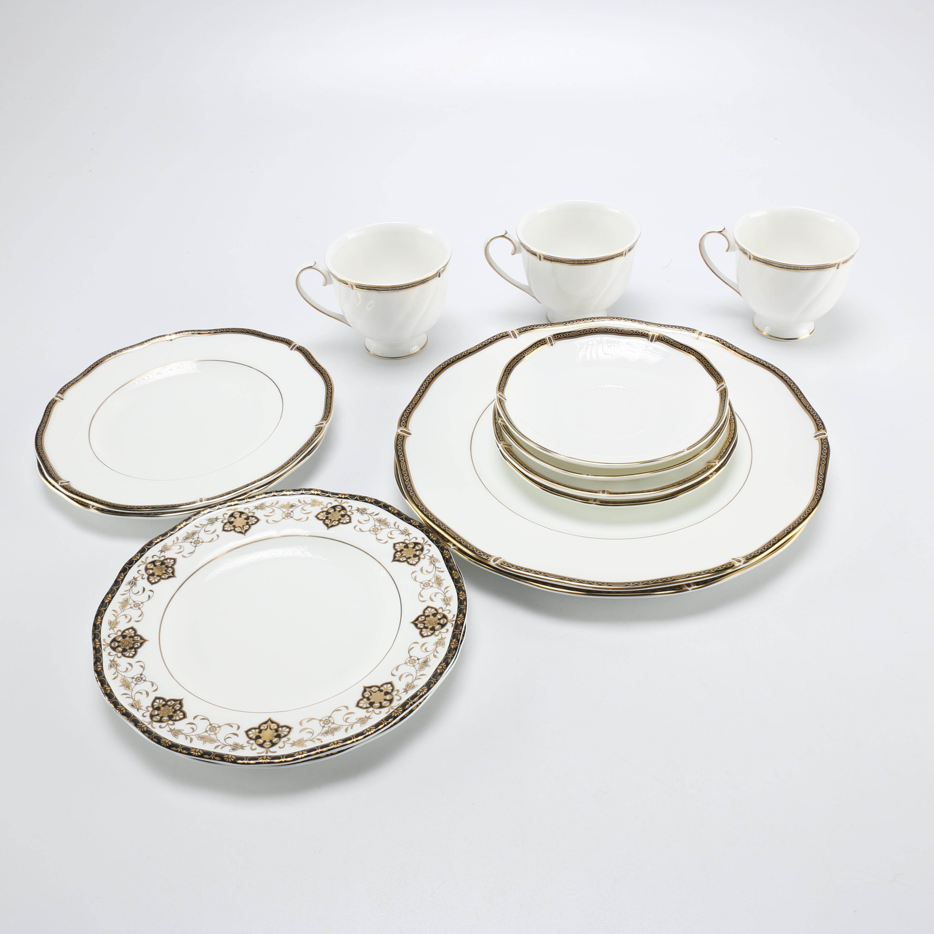 Wedgwood  Windsor Black  and  Constantine  Collection ...  sc 1 st  EBTH.com & Wedgwood