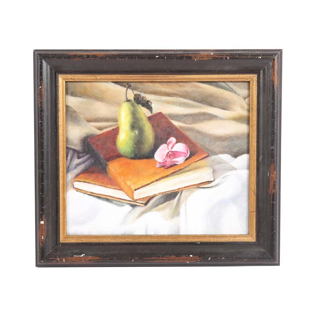 Original Acrylic Still Life Painting