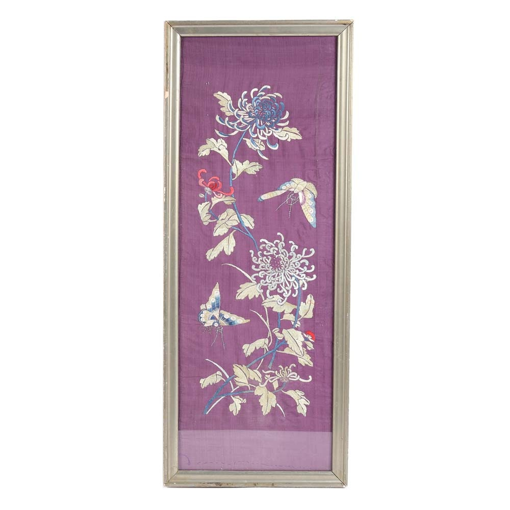 East Asian Silk Embroidery